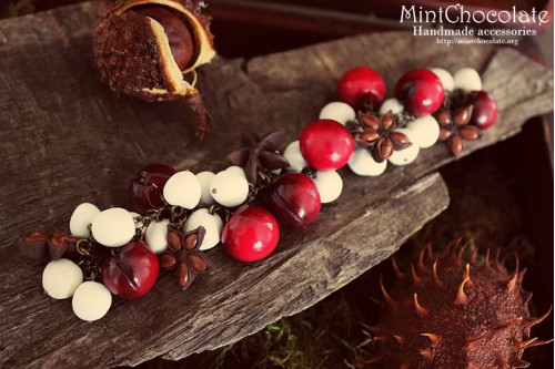 Spicy cherry bracelet