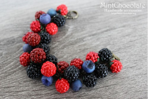 Berry mix bracelet