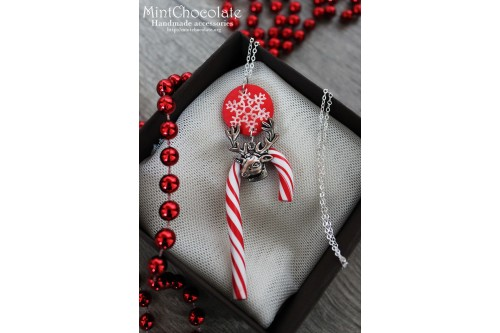 Peppermint pendant