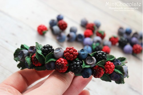 Berry Mix hairclip