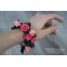 Pink sunset bracelet